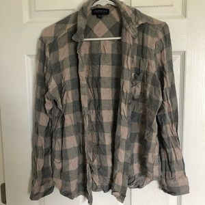 [ Aeropostale ] plaid shirt